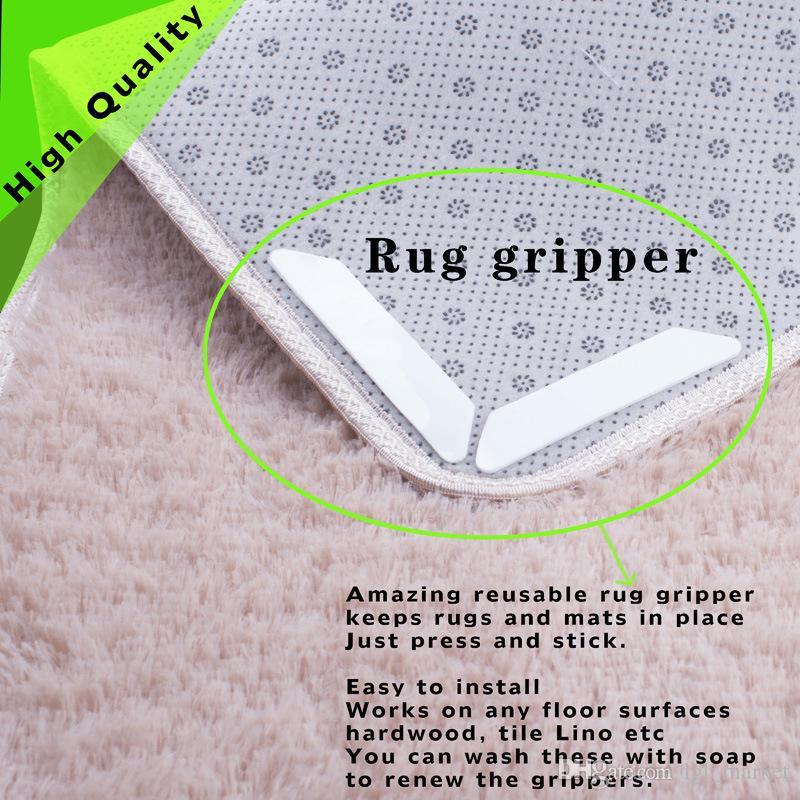 2019 anti slip rug grips rug carpet mat grippers non slip reusable2019 anti slip rug grips rug carpet mat grippers non slip reusable washable silicone grip slip stickers bathroom from lgl_market, $2 77 dhgate com