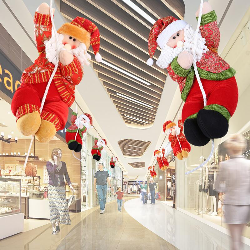 Christmas Home Tree Decorations Shopping Malls Santa Claus Smowman