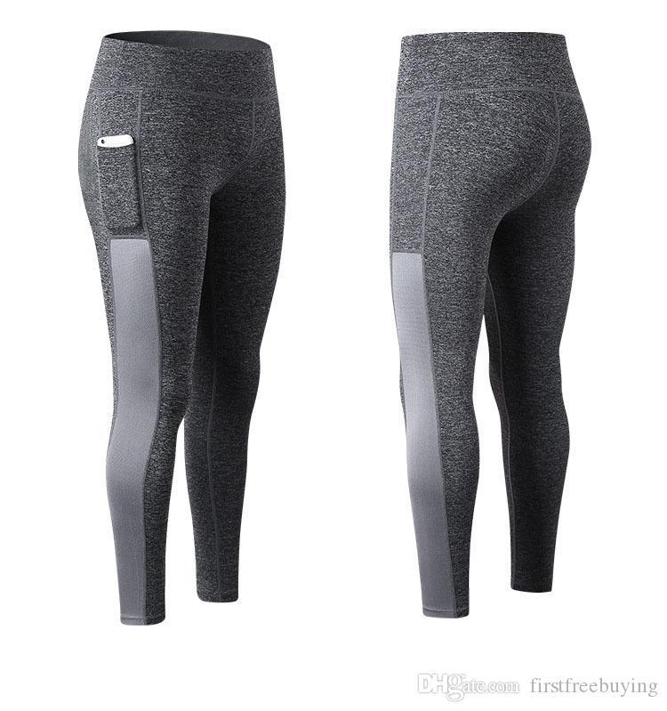 / 2018 Vente chaude Pantalon de Yoga Sport Fitness Leggings Femmes Legging Slim Running Casual Collants Skinny Pantalon Pantalon