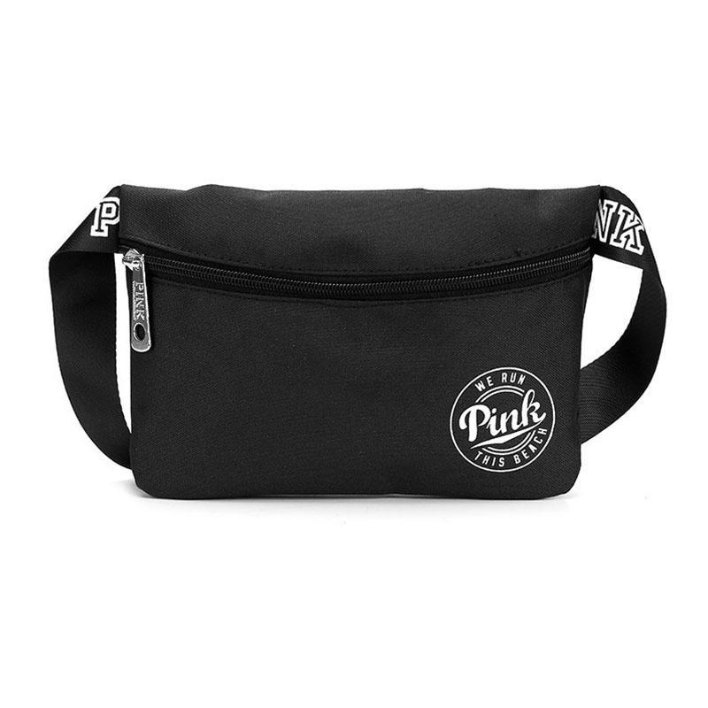 2d1a201b62f32 Pink Fanny Pack Fashion Pink Letter Waist Belt Bag Casual Beach Travel Bags  Waterproof Cross Body Bag Outdoor Cosmetic Bag Designer Handbags Crossbody  Bags ...