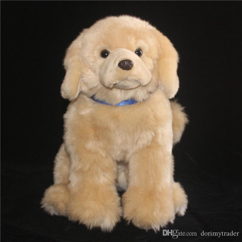 2019 Cute Dog Plush Toy Realistic Animals Golden Retriever Puppy