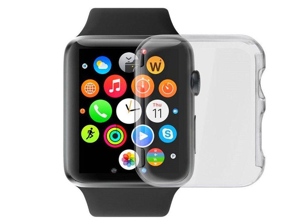 77bb27f334a Compre TPU Para Apple Watch Iwatch 1 2 3 4 Cristal TPU Soft Cover 38  Milímetros 42 Milímetros 40 44 De Alicech