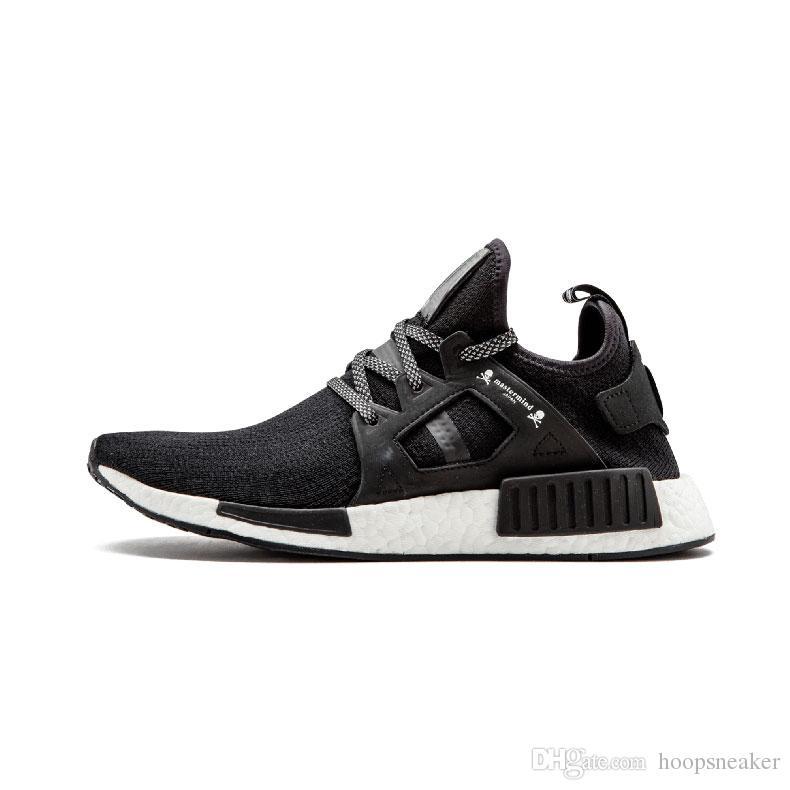 1aa27fb4537d1 2019 2018 Nmd XR1 PK Running Shoes Cheap Sneaker Nmd XR1 Primeknit OG PK  Zebra Bred Blue Shadow Noise Duck Camo Core Black Fall Olive From  Hoopsneaker