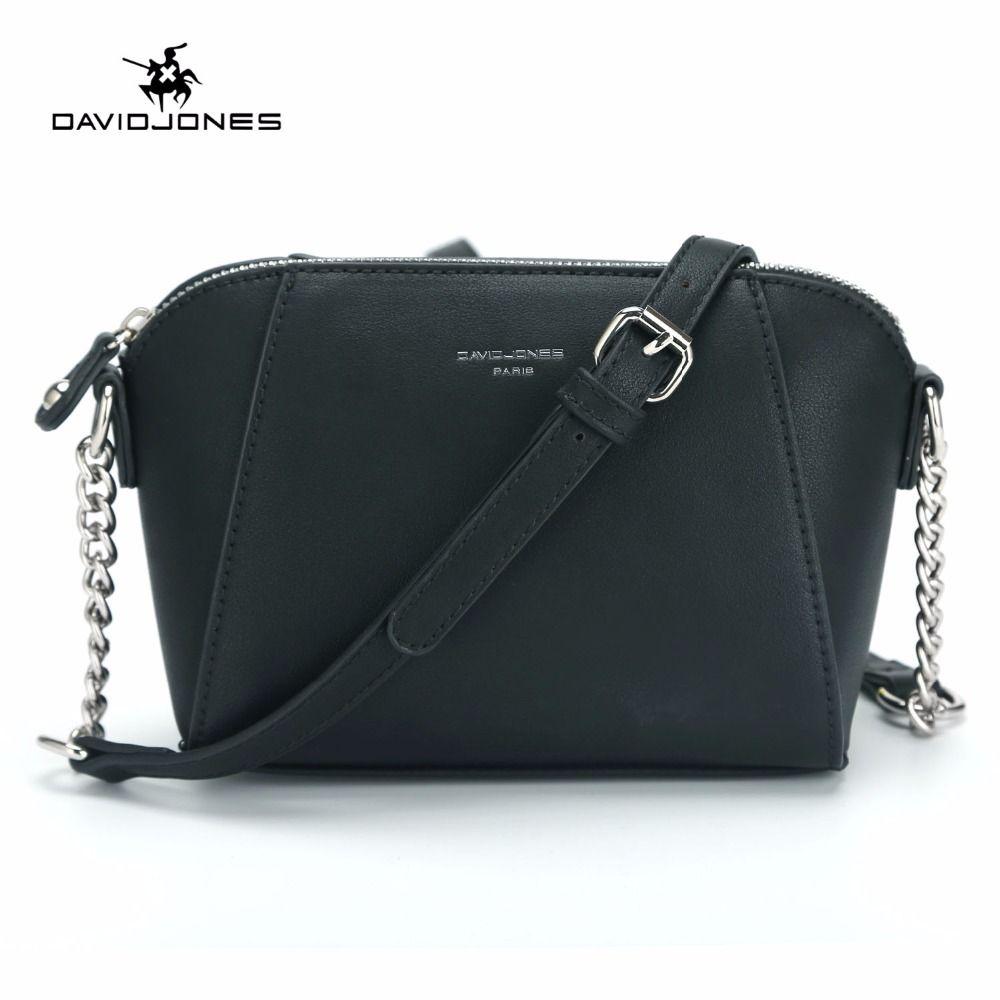 c8725bec9a07 DAVIDJONES New Fashion Women Messenger Bag Female Crossbody Bags For Women  Small Purse Feminina Sac PU Leather Shoulder Bag 2018 Handbags Wholesale  Purses ...