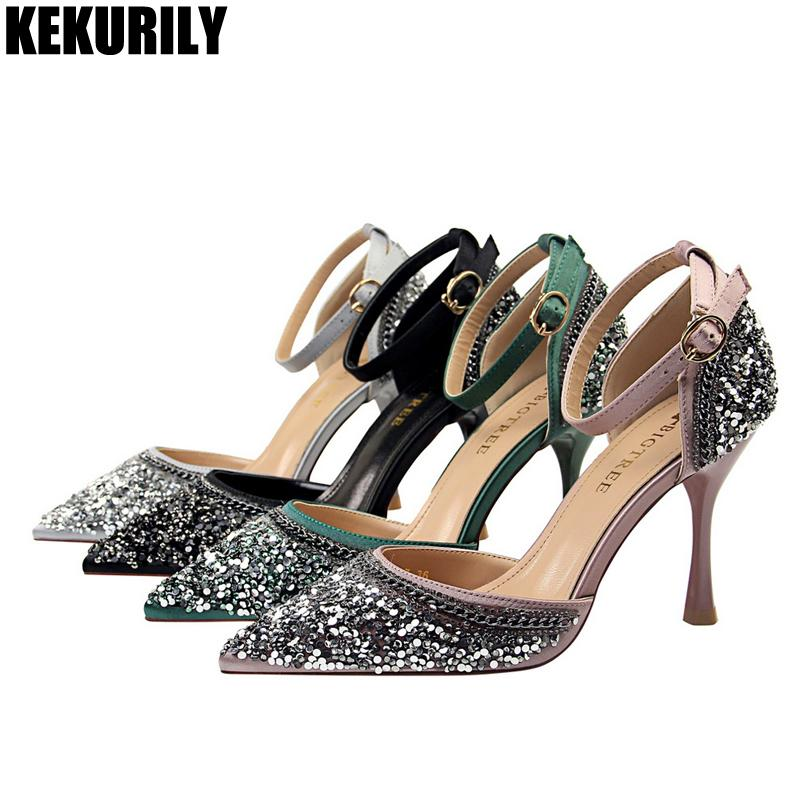 quality design 2b74f 9fe13 woman-shoes-bling-buckle-pumps-crystal-high.jpg