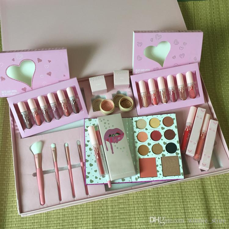 by ePacket Pink Vacation Edition Bundle Makeup Set Take Me On Vacation I Want It All Bundle Holiday Edition Big Box