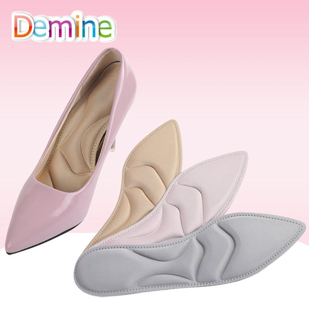 Demine 4D Weiche Memory Foam Massage Einlegesohle Damen Fußpflege Arch Support Orthopädische Komfort High Heels Schuhe Schwamm Kissen Einlegesohlen