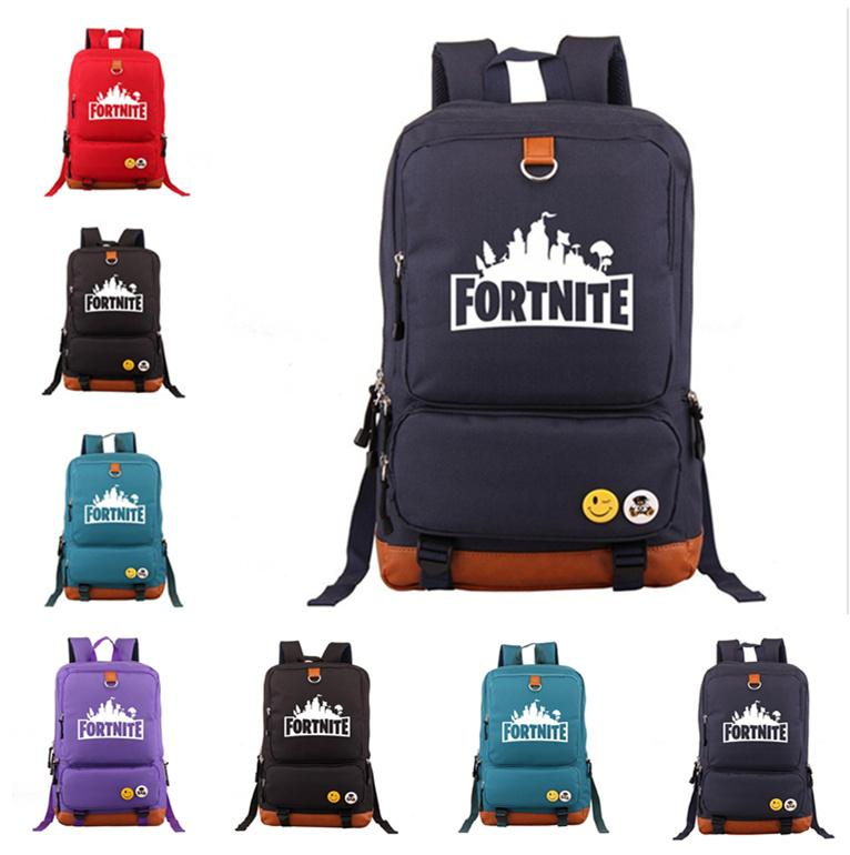 Fortnite Battle Royale Backpack Student School Bag Daily Backpack ...