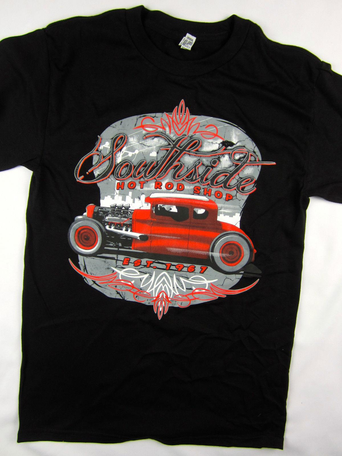 4fc6d598 South Side Hot Rod Garage Racer 1967 Tee Shirt Men'S Black Choose A Size  Classic Quality High T Shirt Order Tee Shirts T Shirt With Design From  Qz614445917, ...