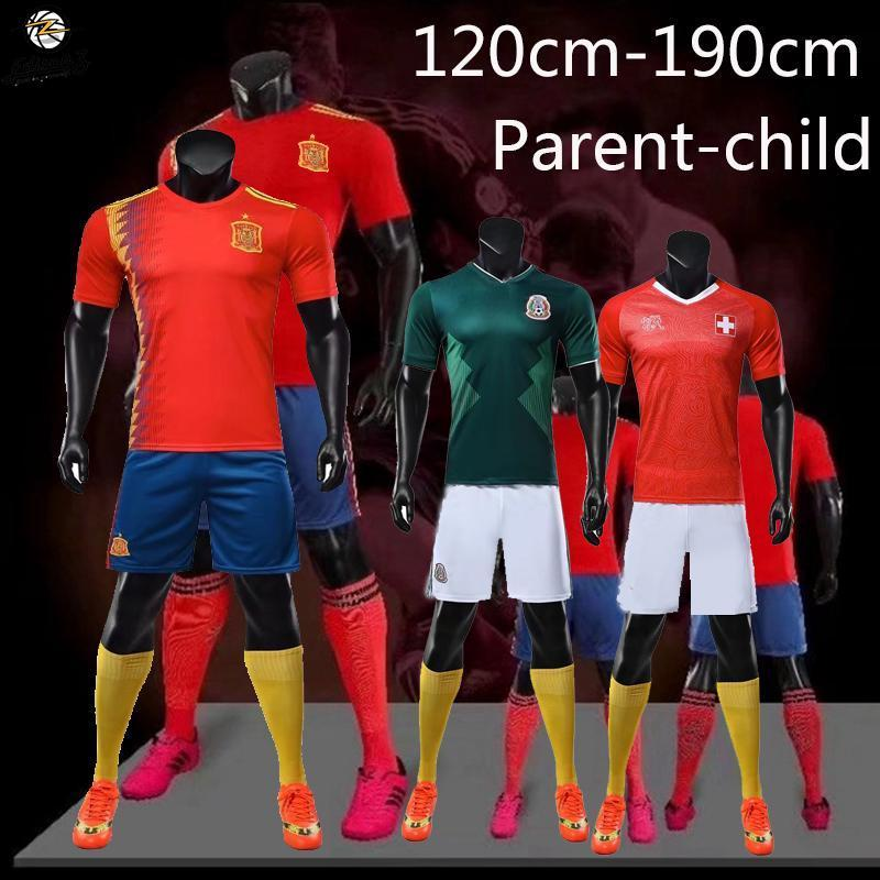 2019 Football Jersey 10 Choose Men S Half Sleeve T Shirt Shorts Training  Suits Children Adult Plus Size From Bomini 218d20aee