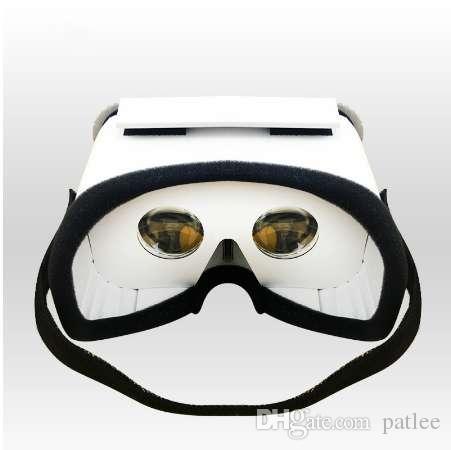 f8fd0204b28 Compre HOT DIY Gafas Portátiles De Realidad Virtual Google Cardboard 3D  Glasses VR Box Para SmartPhones Para Gafas De Iphone X 7 8 VR Para TV A  $12.07 Del ...