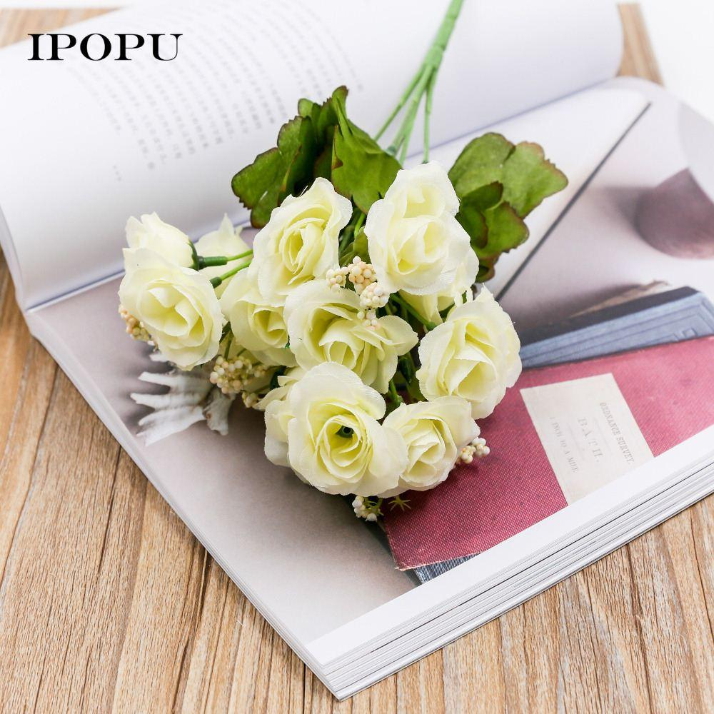 2018 15 headsbunch 6 bunch spring silk flowers artificial rose 2018 15 headsbunch 6 bunch spring silk flowers artificial rose wedding floral decor plant flower arrangement home decor from kepi4 2804 dhgate mightylinksfo