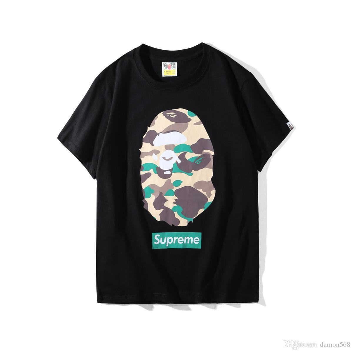 1e051a69 ... For Men'S Wear Animal Printing Black And White Body Repair Street  Fashion T Shirt Printing Half Sleeve Of Fashion Trend Best Designer T Shirts  Funny ...