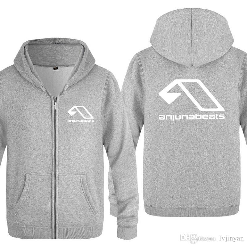 Britain NightClub MC Above & Beyond Anjunabeats Hoodies Men Hip Hop Skate Zipper Jacket Coats Men Women Streetwear Sweatshirts