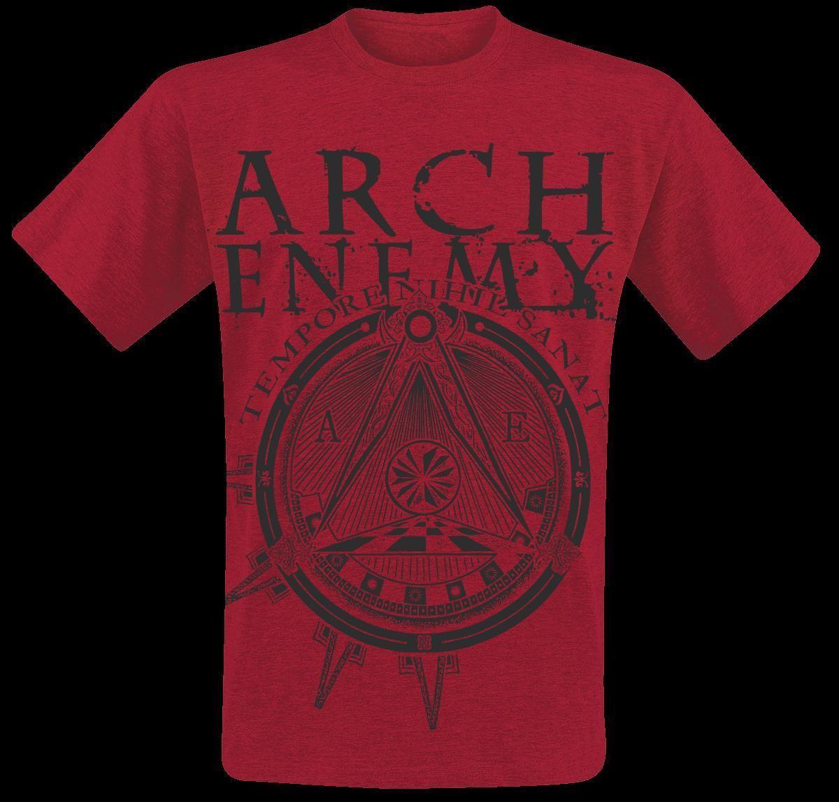 Arch Enemy Symbol T Shirt Red Hoodie Hip Hop T Shirt Jacket Croatia