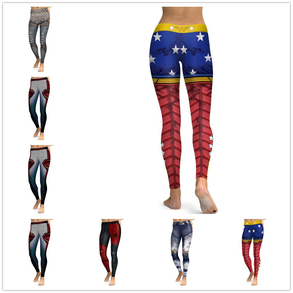 New Fashion Women Leggings 3D Printed Color Legins Ray Fluorescence Leggins  Pant Legging for Woman Sexy Hip Push Up Pants Legging Jegging Leggins  Jeggings ... 311ead562c3