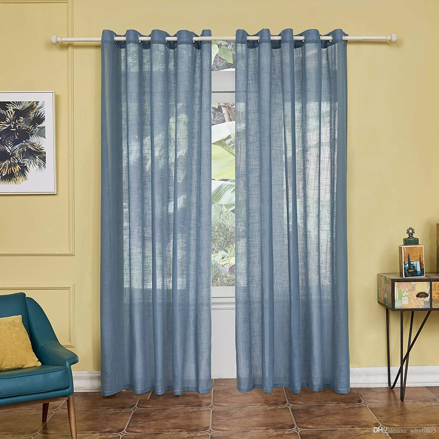 2018 2 Panel Set Digital Printed Window Curtains For Bedroom Living Room  Dining Room Kids Room Window Drapes W52*l84, Blue From Why0805, $40.11 |  Dhgate.Com