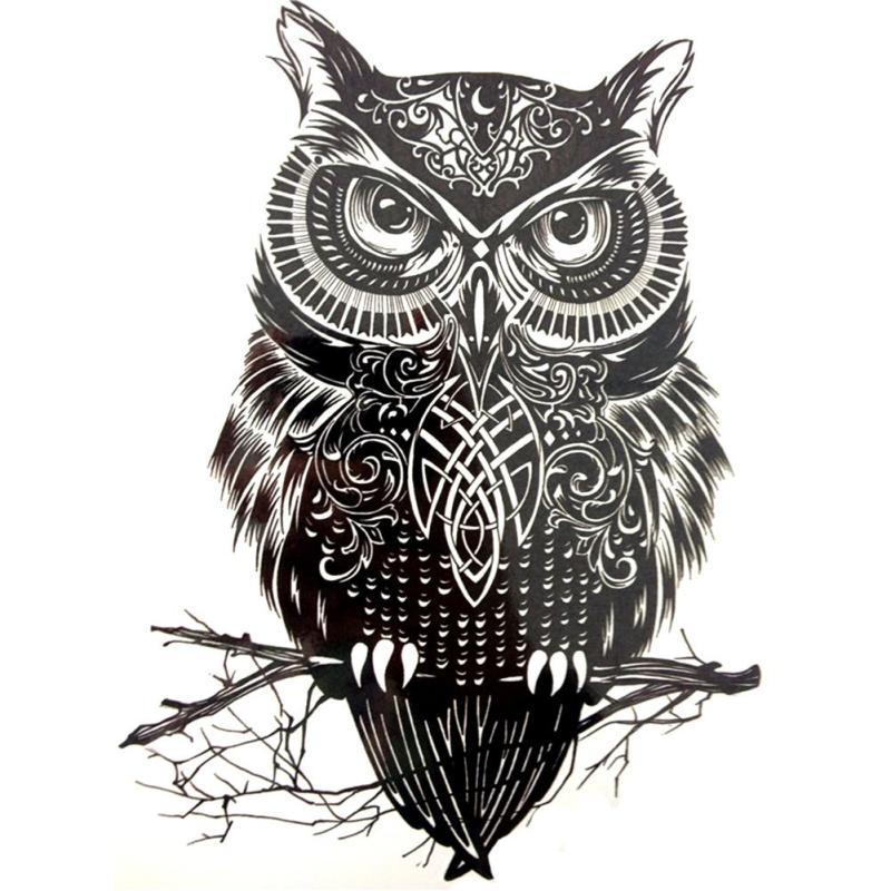 moda grande tatuaje temporal b ho tatuajes pegatinas brazo. Black Bedroom Furniture Sets. Home Design Ideas