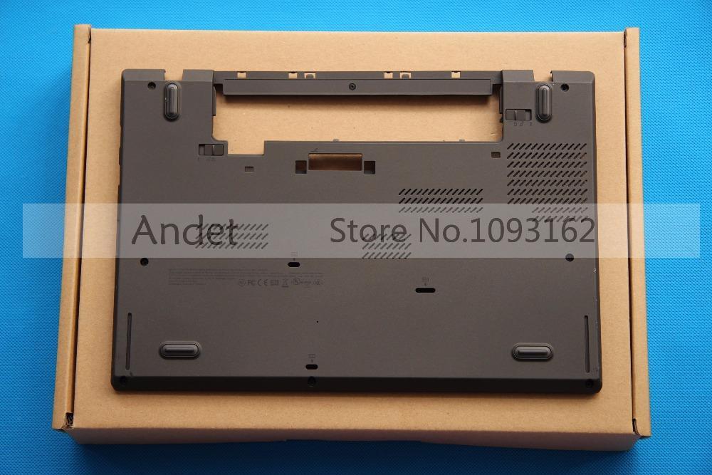Original New for Lenovo ThinkPad T440 Lower Shell Base Laptop Case W/Dock  Bottom Replace Cover 04X5445 AP0SR000100
