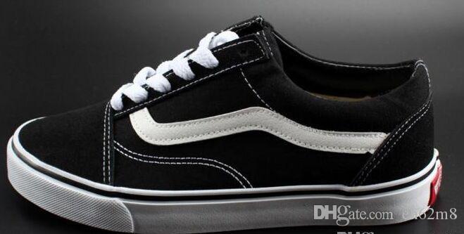 45 Casual Klassische Canvas Herren Frauen Skateboarding Größe Schwarz Weiß Marke Turnschuhe 35 Schuhe Und wOkn0P