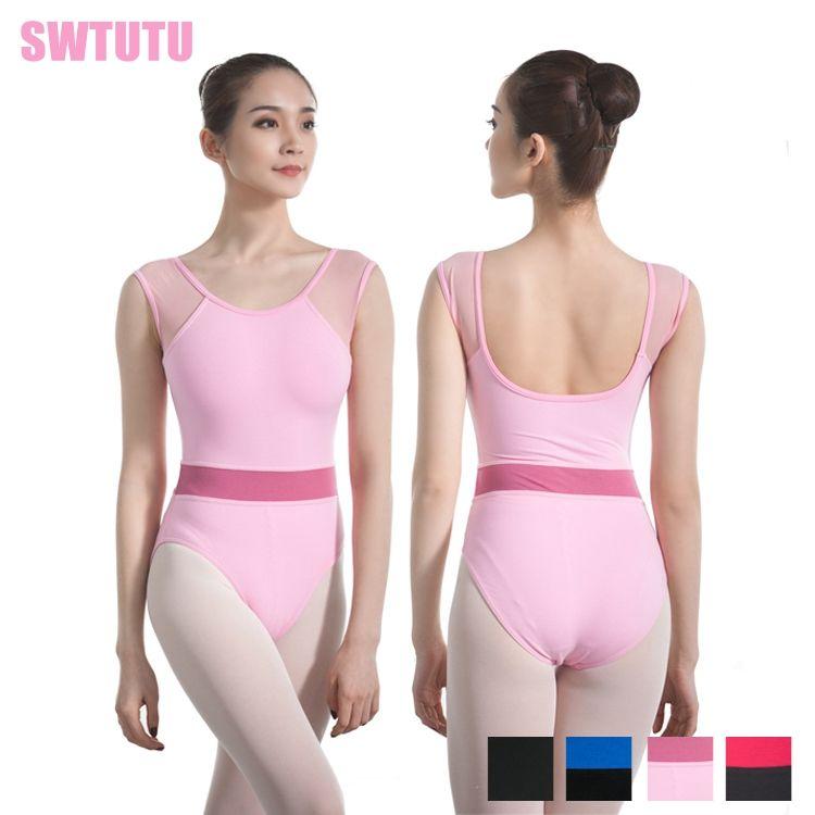 2018 New Sexy Dance Bodysuit Ballet Leotard For Women Mixed Color Gymnastics Dance Leotards Ladies Ballet Costumes For Sale0707 Ballet Cheap Ballet 2018 New