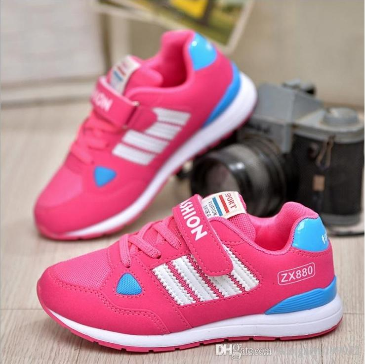 2018 New Autumn And Winter Children S Sports Shoes Men And Women Children  Running Shoes Primary And Middle School Students Sports Shoes Big Boots Kids  ... 8d3d823657