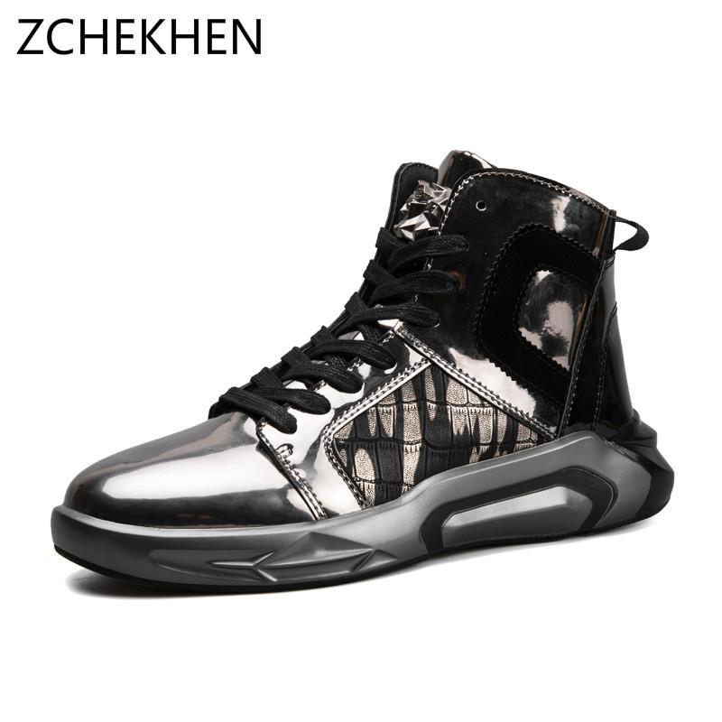 Compre 2018 Hip Hop Moda Gz Martin Botas Hombres Zapatillas Altas Superior  Suave Cómodo Zapatos Casuales De Los Hombres Calzado Masculino Street Dance  A ... fa467c7e9e8