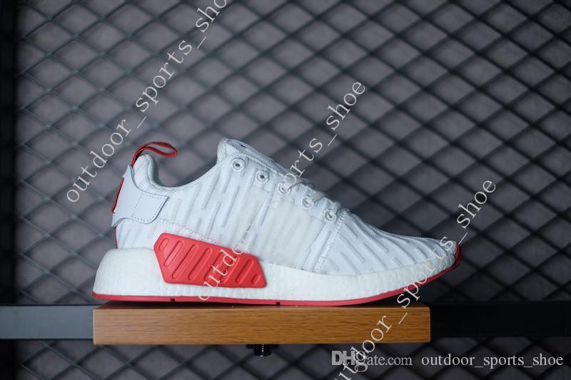 f8d6f927a 2018 Cheap New MMD R2 PK Primeknit Sports Running Shoes