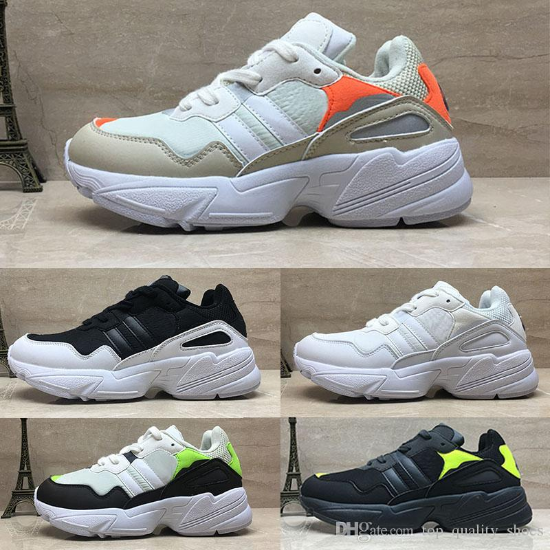 66dcbe2c4dba Yung 96 Running Shoes WORLD Men Women F97182 Black White Grey Orange Green  Yung 96 Trainers Designer Sneakers F97176 36 44 Best Running Shoes For Flat  Feet ...