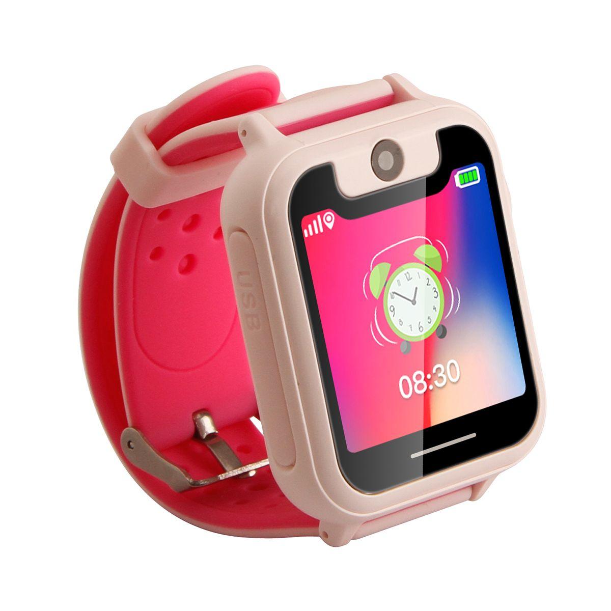 S6 Kids Watch S6 1.54 inch Touch Screen SOS GPRS Location Flashlight Camera Kids Game Children Smart Watch