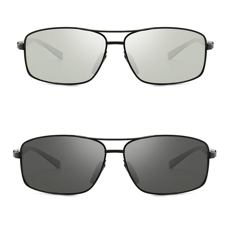 613ce5bc060cd 2018 Photochromic Sunglasses Men Polarized Discoloration HD Goggles Male  Anti Glare Driving Glasses Brand Design Eyewear Oculos Locs Sunglasses  Suncloud ...