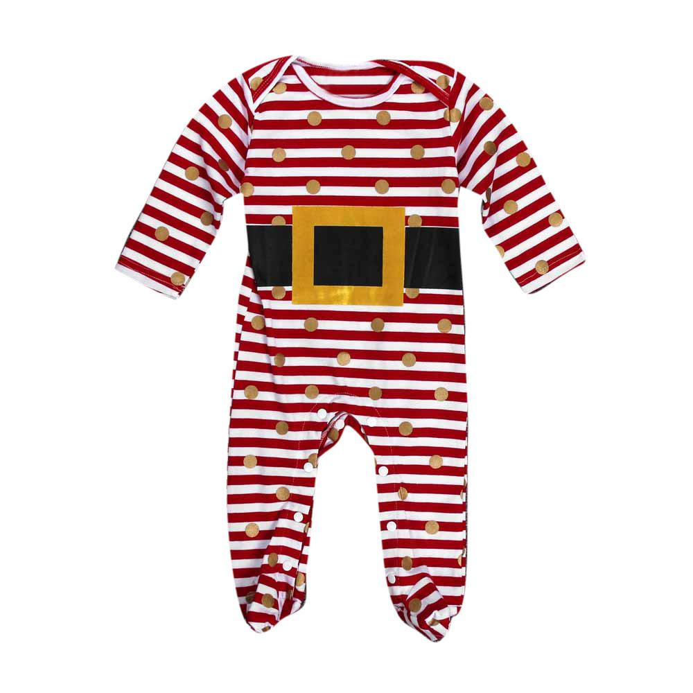 4b4e60fb8 2019 Fashion Kids Infant Baby Christmas Suit Romper Jumpsuit Outfits ...