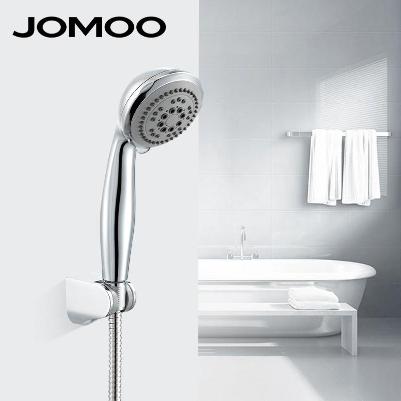 Bath Shower Head And Hose 2018 jomoo bathroom shower bath shower set waterfall abs round head