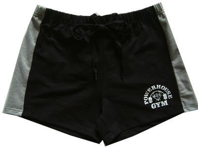 Marca 100% Algodão Shorts de Ginástica dos homens de Ouro Powerhouse Shorts de Tubarão Homens de Fitness Musculação Workout Sports Training Shorts de Corrida