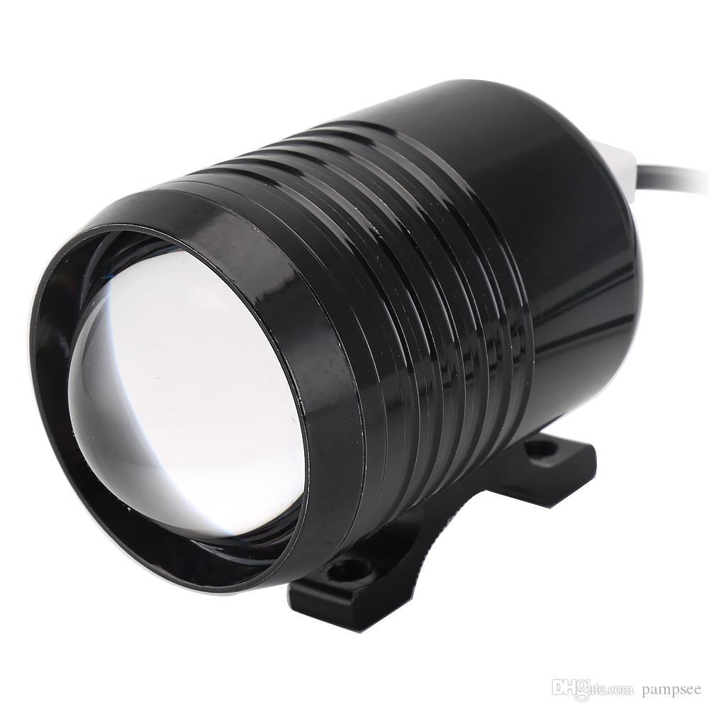 Pampsee u2 farol da motocicleta 1200lm 30 w 6-80 v superior alto feixe de baixa moto led condução de moto luz de nevoeiro flash lâmpada de moto faróis lâmpadas