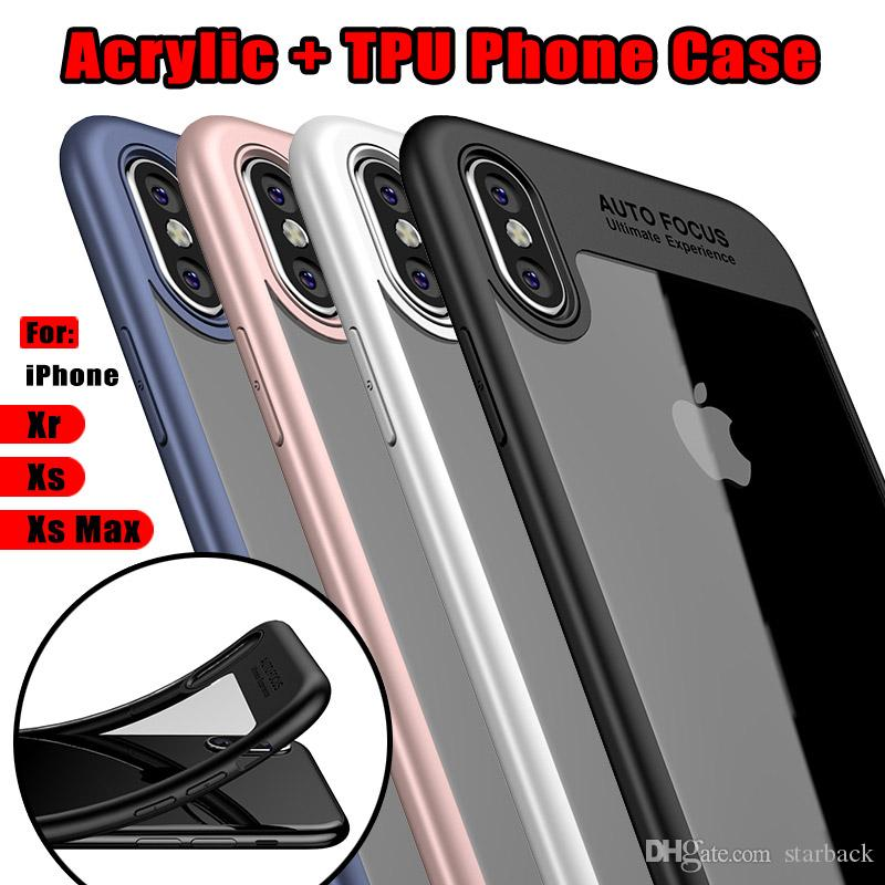 ef77395388 For IPhone 8 Plus IPhone X Phone Cases Back Cover Case TPU Clear Shockproof Case  Phone Protector For Samsung Galaxy S8 Tough Cell Phone Cases Cell Phone ...