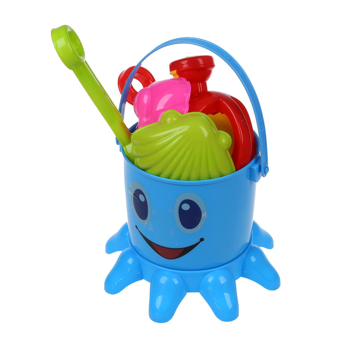 Color Lovely Cute Child Beach Octopus Baby Toy Large Hourglass Sand ...
