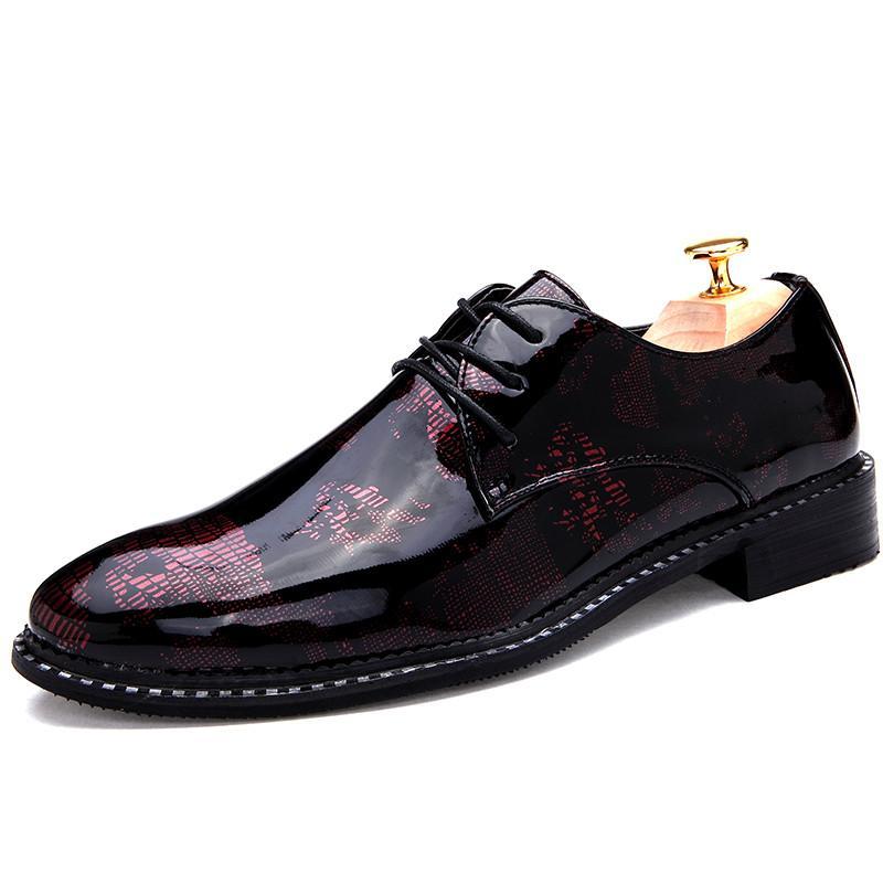 184c88704 Designer Men Shoes Leather Zapatos Hombre Vestir Schuhe Herren Schoenen  Formal Wedding Calzado Hombre Chaussures Hommes En Cuir Dress Shoes Dress  Shoes For ...