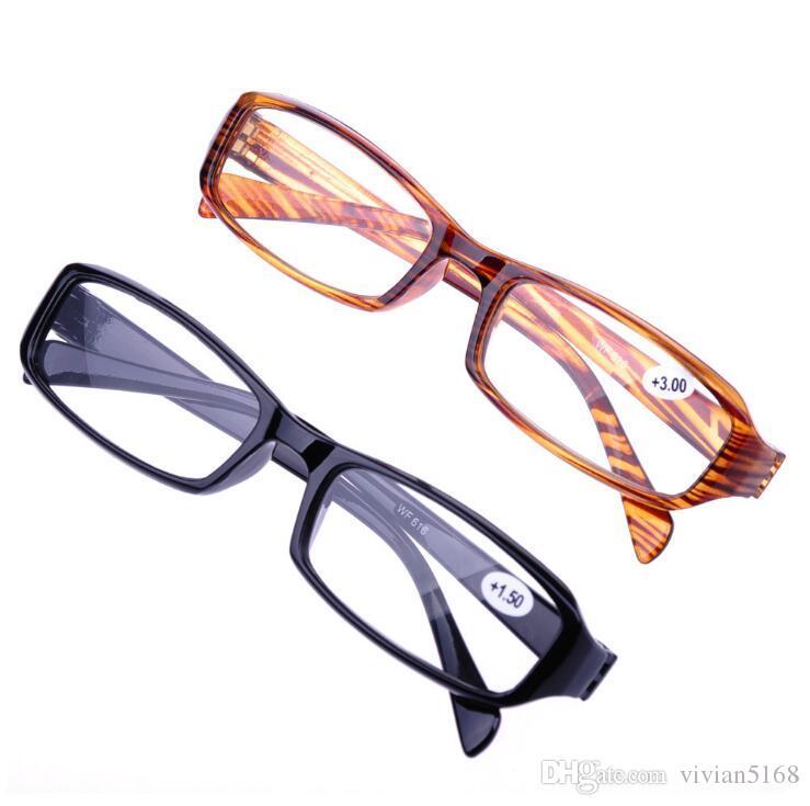 3442ae0536 Compre Nueva Actualización De Moda Gafas De Lectura Hombres Mujeres Gafas De  Alta Definición Gafas Unisex +1.0 +1.5 +2.0 +2.5 +3 +3.5 +4.0 Diopter A  $81.22 ...
