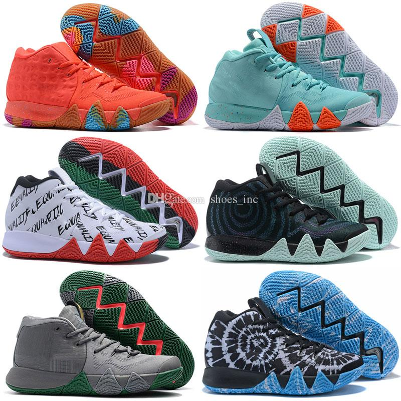 Men Women Basketball Shoes for Cheap Sale Kyrie Sports Irving 4 Womens Shoe  Wolf Grey Team Red Outdoor BasketBall Shoes Size 36-46 Irving 4 Basketball  Shoes ... ce8a012d7