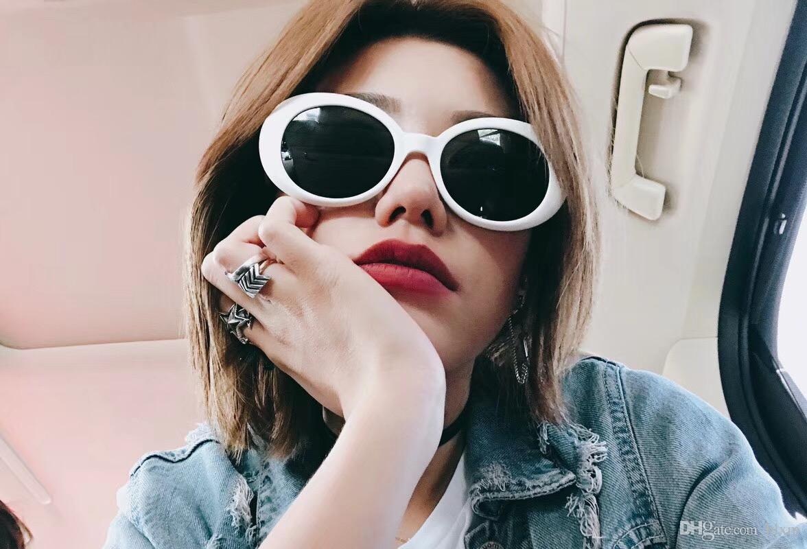 be9591a823 Fashionable Sunglasses Make The Best Use Of Fashionable Board Material All  Frame Men And Women With The Same Style Of Small White Sunglasses Cheap  Designer ...