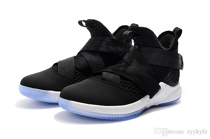 High Quality Athletic Cheap Kids Lebron Soldier 12 Sneakers Youth