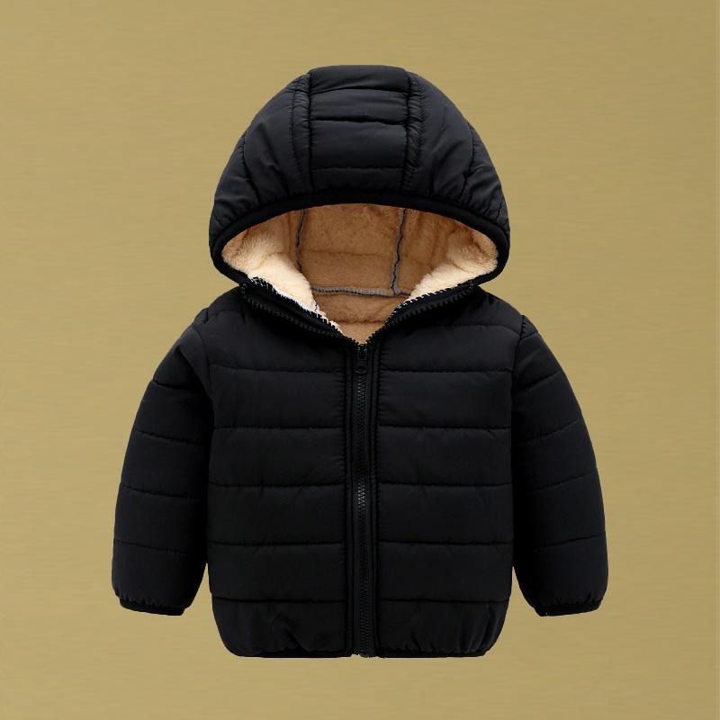 3285eedca 2018 New Girls Winter Jackets For Children Baby Boys Down Coats Kids Parka  Hooded Outerwear Toddler Girl Coat Baby Boy Clothes
