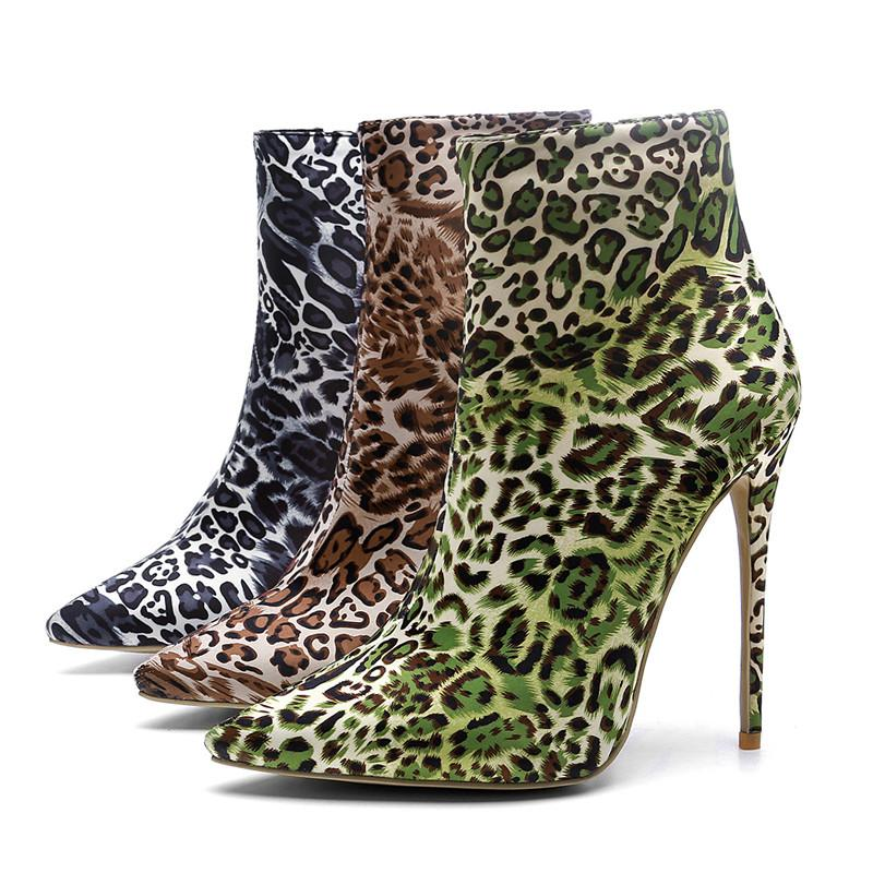 ba98582dcfd9 Fashion Luxury Designer Women Shoes Designer Women Shoes Superstars Fashion  Ankle Boots Sexy Leopard Print Women Dress Shoes Designer Shoes Women Shoes  ...