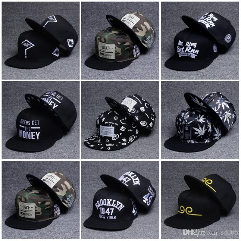 b39ae8dad8b Fashion Flat Brim Visor Cap Outdoor Sports Men Women Baseball Hats Hip Hop  Style Adjustable Embroidery Letter Caps 8 5kj Z Womens Baseball Hats Cheap  ...