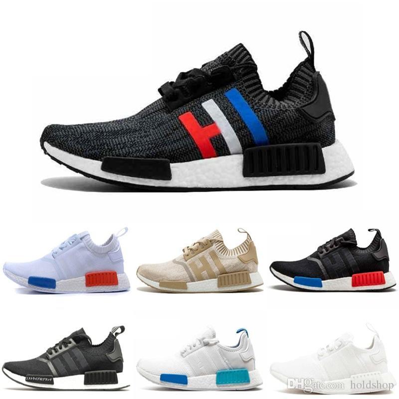 389ffa07d3da5 2019 NMD R1 Oreo Runner Primeknit OG Triple Black White Camo Running Shoes  For Men Women Sports Trainers Designer Shoes Sneakers EUR 36 45 From  Holdshop