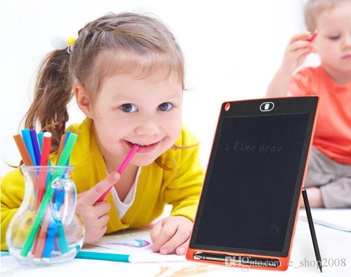 Tableta de escritura LCD Digital Digital portátil Tableta de dibujo de 8.5 pulgadas Tabletas de escritura electrónica Tableta electrónica para adultos Niños Niños DHL