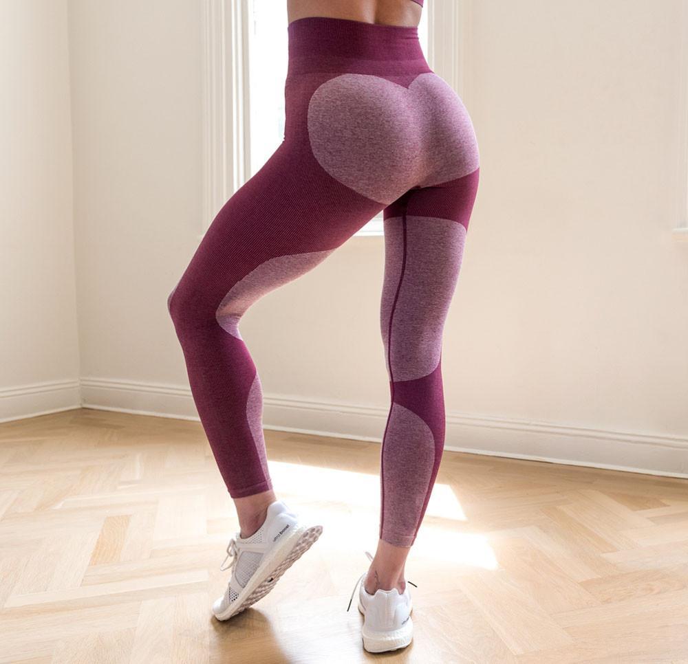 4f2b31750abf VENTA CALIENTE NUEVAS Mujeres Leggings de Entrenamiento Deportes Yoga  Gimnasio Pantalones de Fitness Ropa Deportiva Legging Culturismo Ropa # 2DQ