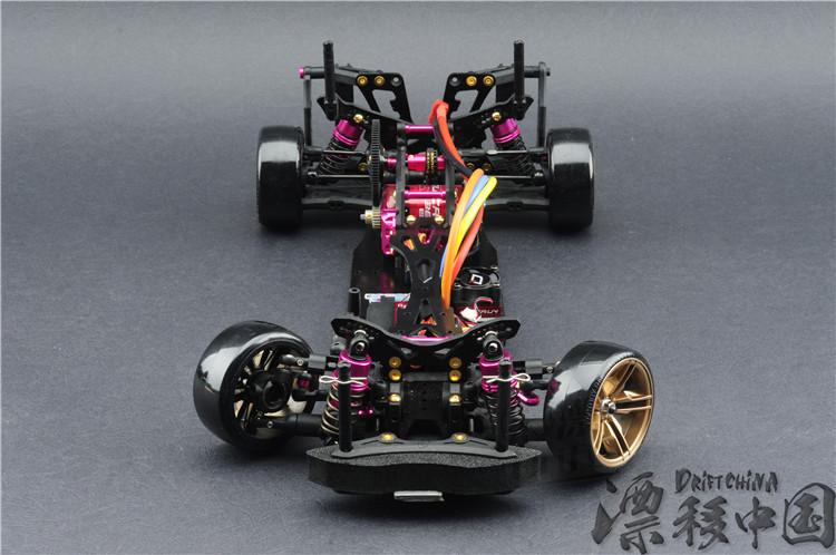 Rc Car Kit 3 Racing Cs D4 4wd Drift Frame Pro Pack With