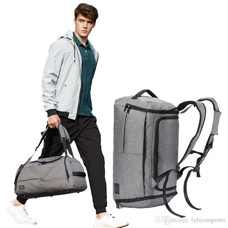3f4c61704b Terylene Men Sport Fitness Bag Multifunction Tote Gym Bags For Shoes  Storage Outdoor Travel Anti Theft Backpack Yoga Strap Yoga Mat Strap From  Fahionsports
